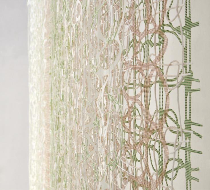Anne Bjørn, Japan Lover, 160x170cm, Detalje. Foto: Makoto Yano